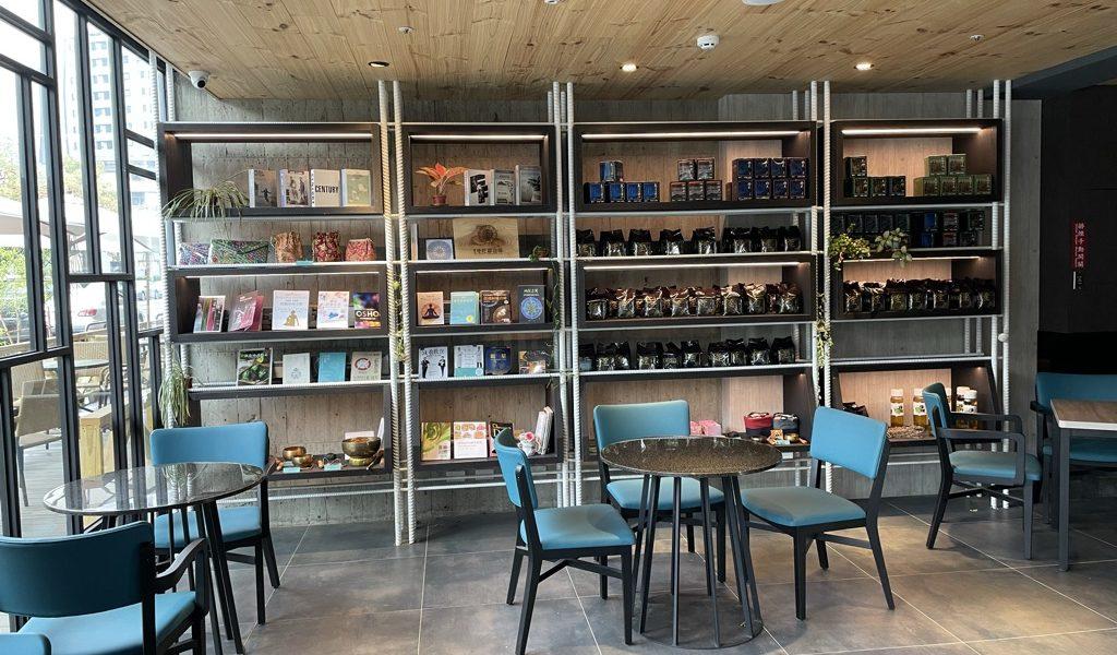 彩色曼陀羅咖啡廳展售